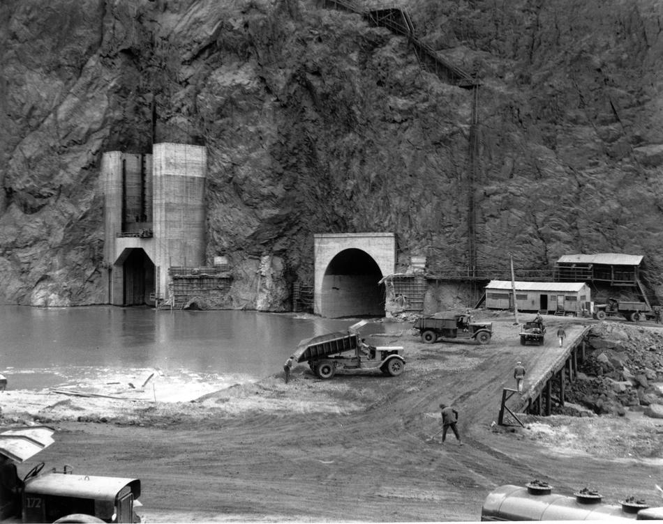 hooverdam18 Как строилась плотина Гувера