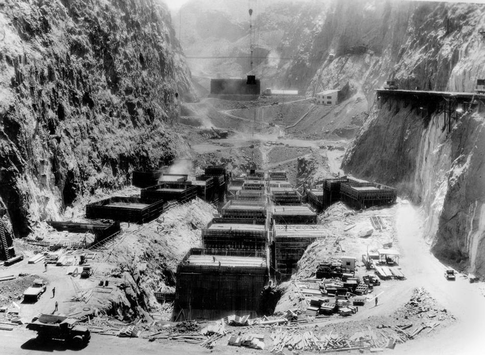 hooverdam19 Как строилась плотина Гувера