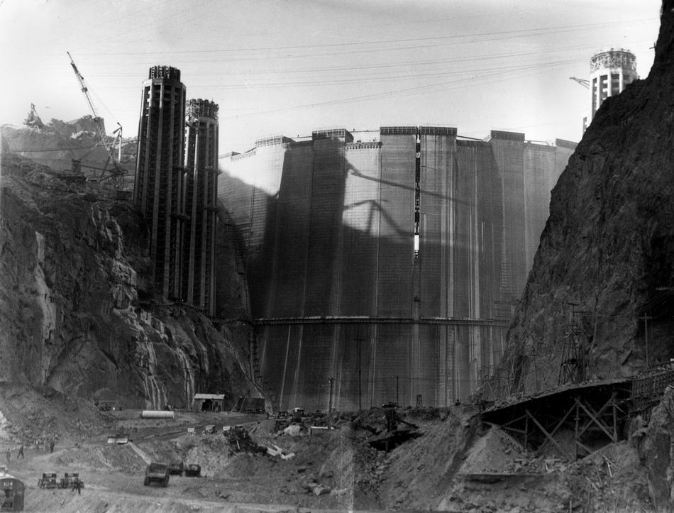 hooverdam22 Как строилась плотина Гувера