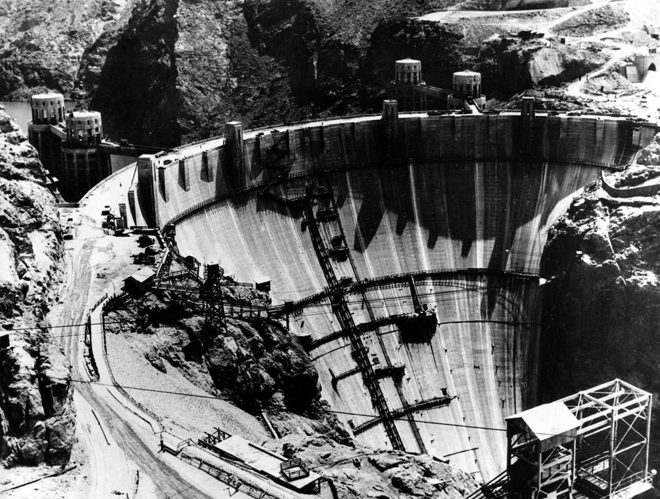 hooverdam25 Как строилась плотина Гувера