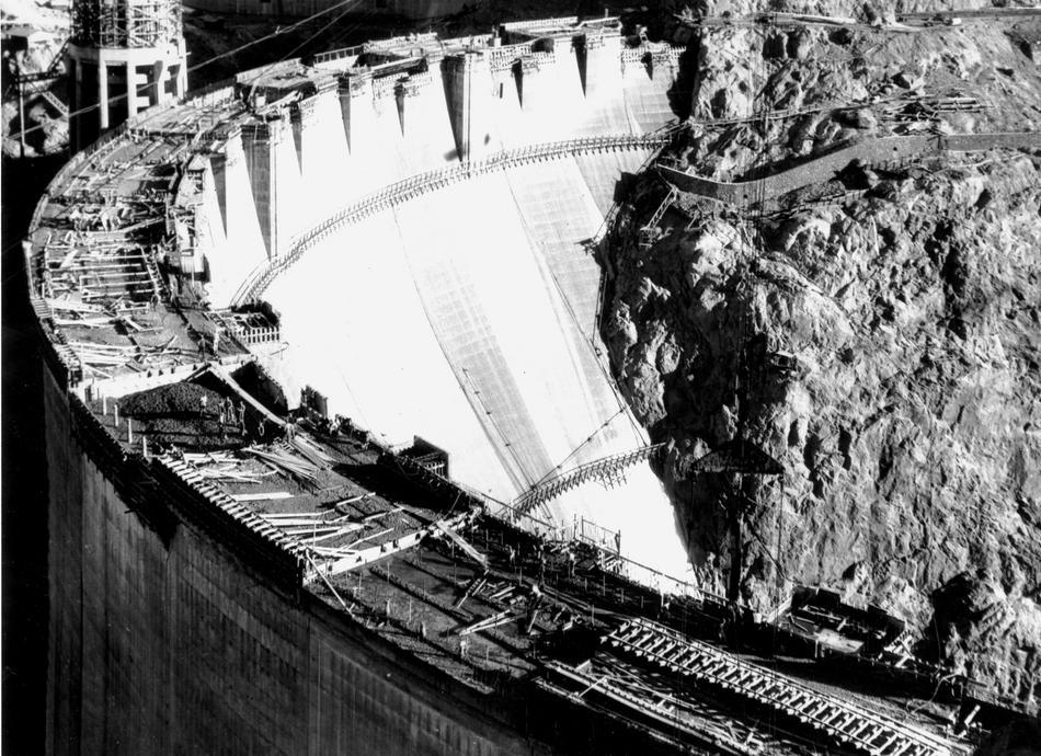 hooverdam29 Как строилась плотина Гувера