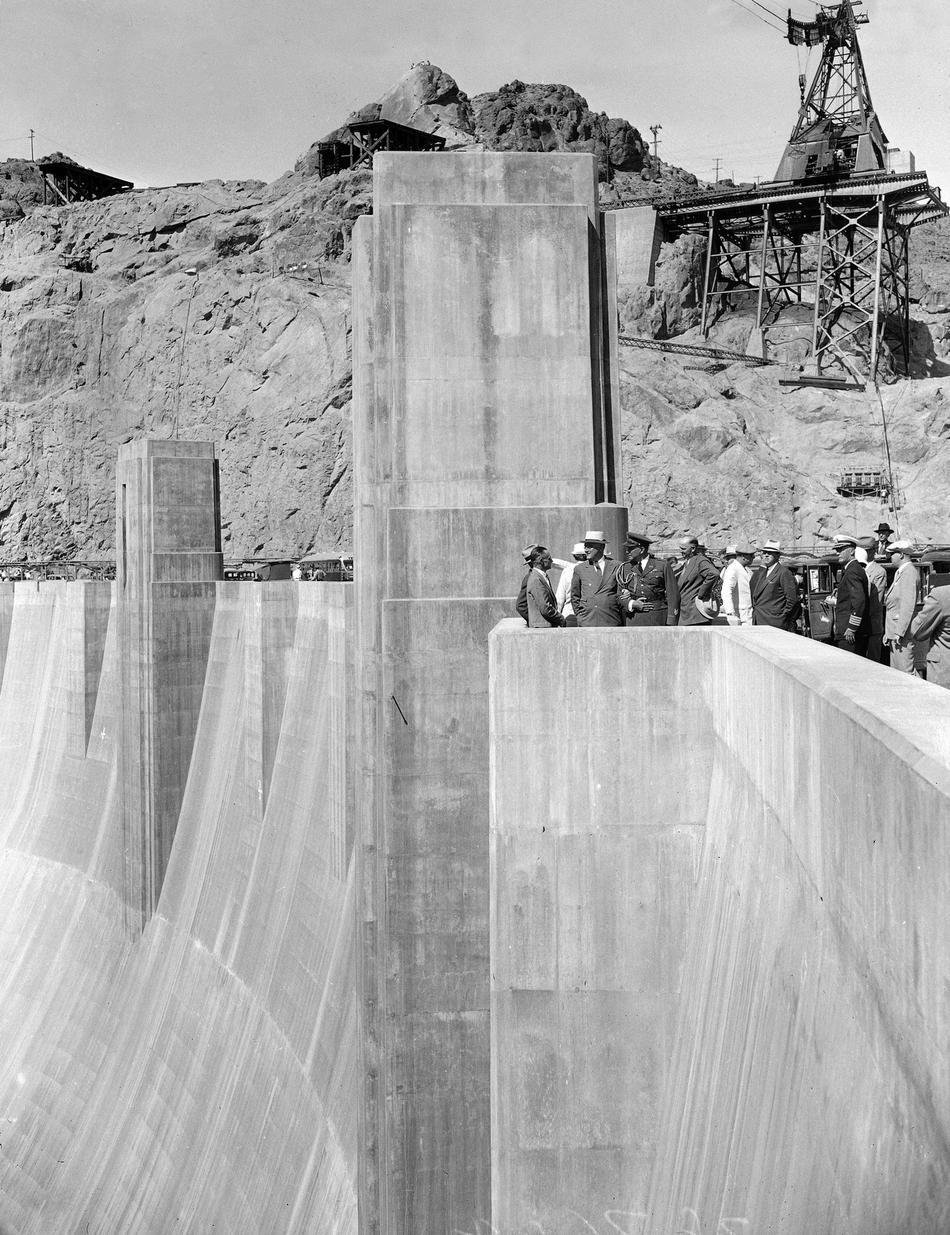 hooverdam34 Как строилась плотина Гувера