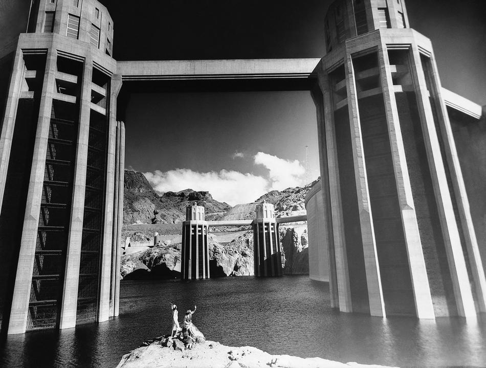 hooverdam38 Как строилась плотина Гувера