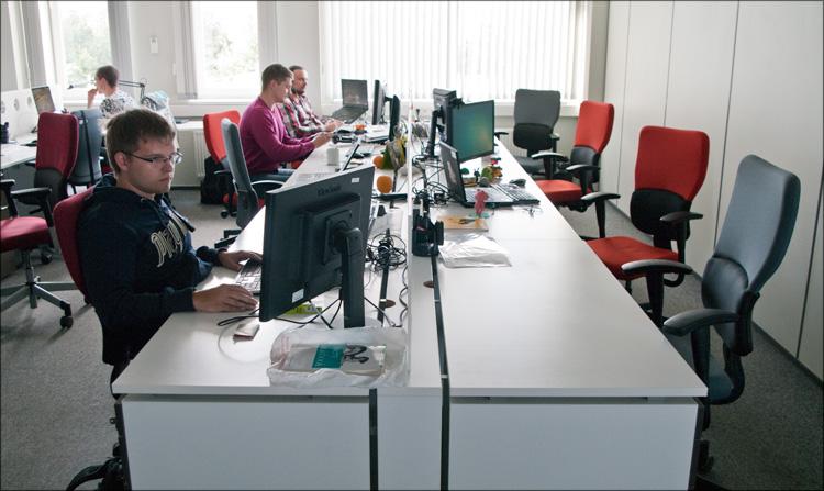 klassniki07 Офис компании «Одноклассники.ру»
