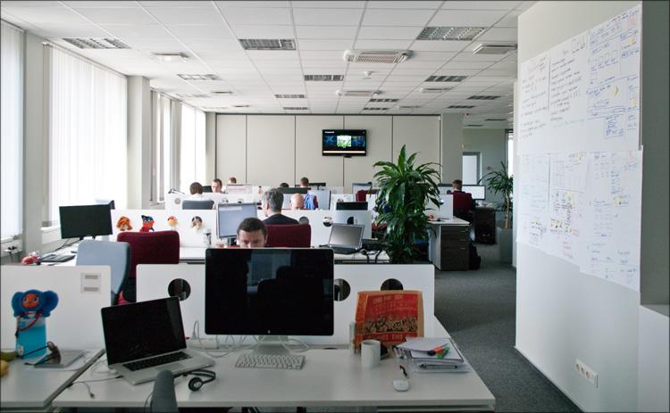 klassniki11 Офис компании «Одноклассники.ру»