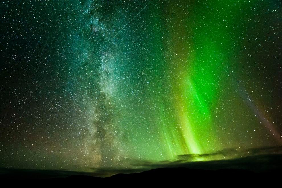 light 6 990x660 Сказочные небеса Норвегии