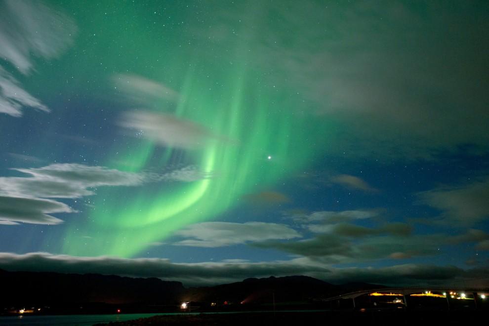 light 7 990x660 Сказочные небеса Норвегии