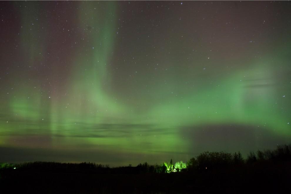 lights 1 990x660 Сказочные небеса Норвегии