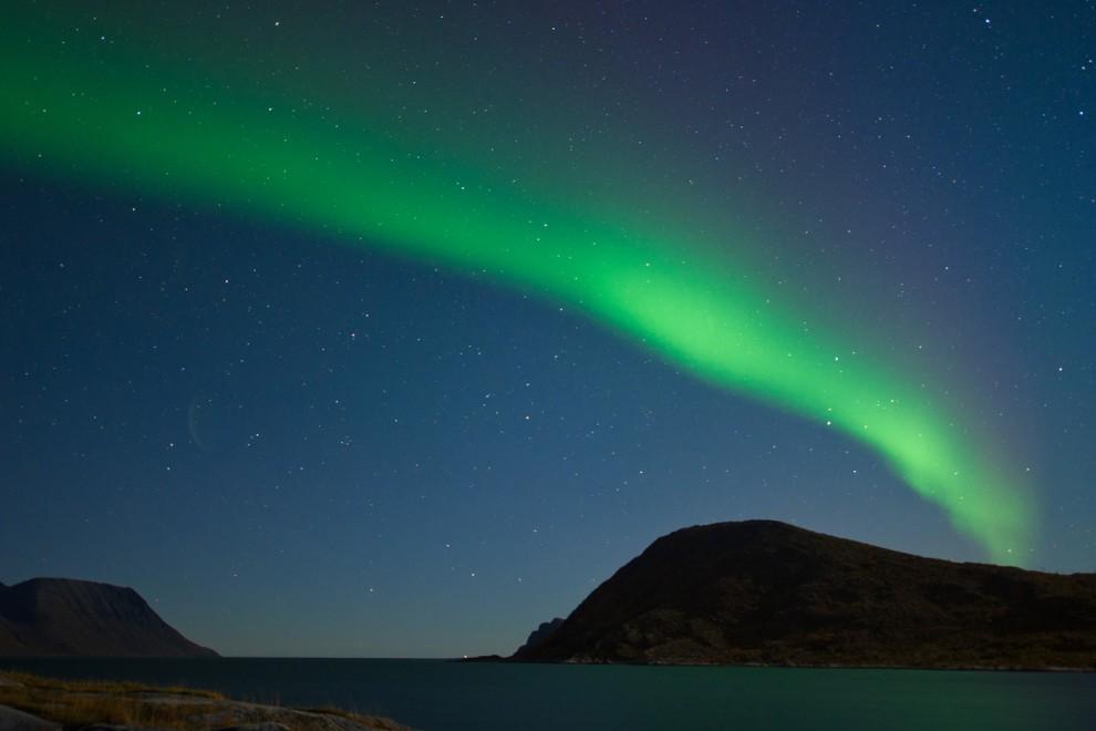 lights 2 990x660 Сказочные небеса Норвегии