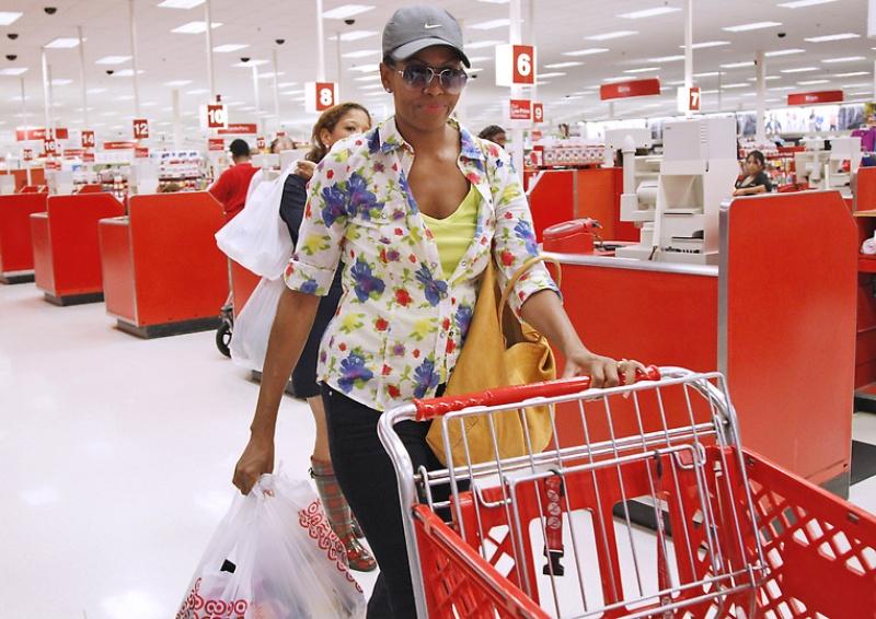 mrsobama01 Michelle Obama di supermarket dan tidak hanya