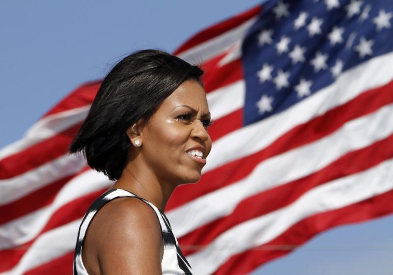 mrsobama04 Michelle Obama di supermarket dan tidak hanya
