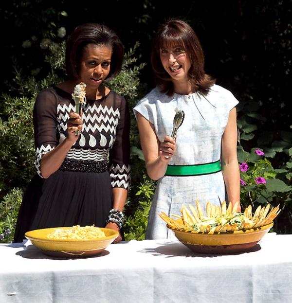 mrsobama05 Michelle Obama di supermarket dan tidak hanya