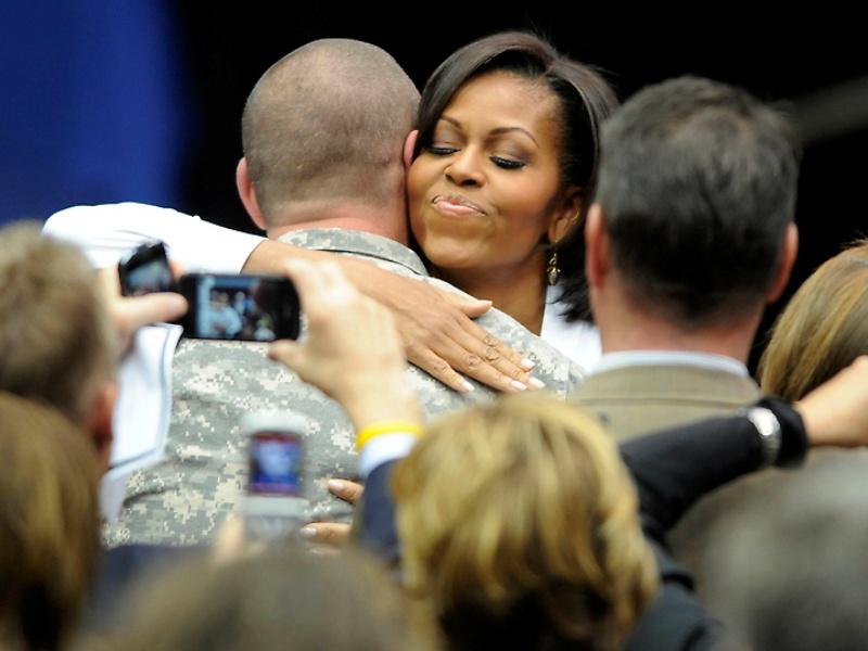 mrsobama09 Michelle Obama di supermarket dan tidak hanya