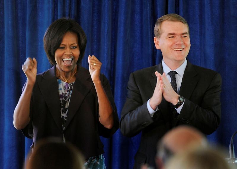 mrsobama12 Michelle Obama di supermarket dan tidak hanya