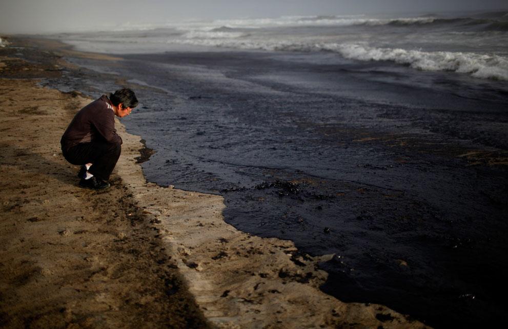 s N02 12.051.582 tumpahan minyak di lepas pantai Selandia Baru