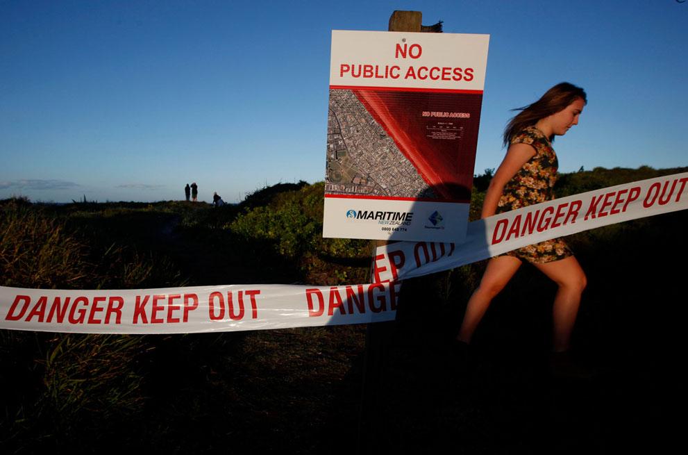 s n09 13.134.148 tumpahan minyak di lepas pantai Selandia Baru
