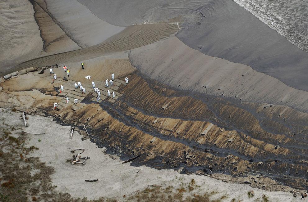 s N10 29.092.320 tumpahan minyak di lepas pantai Selandia Baru