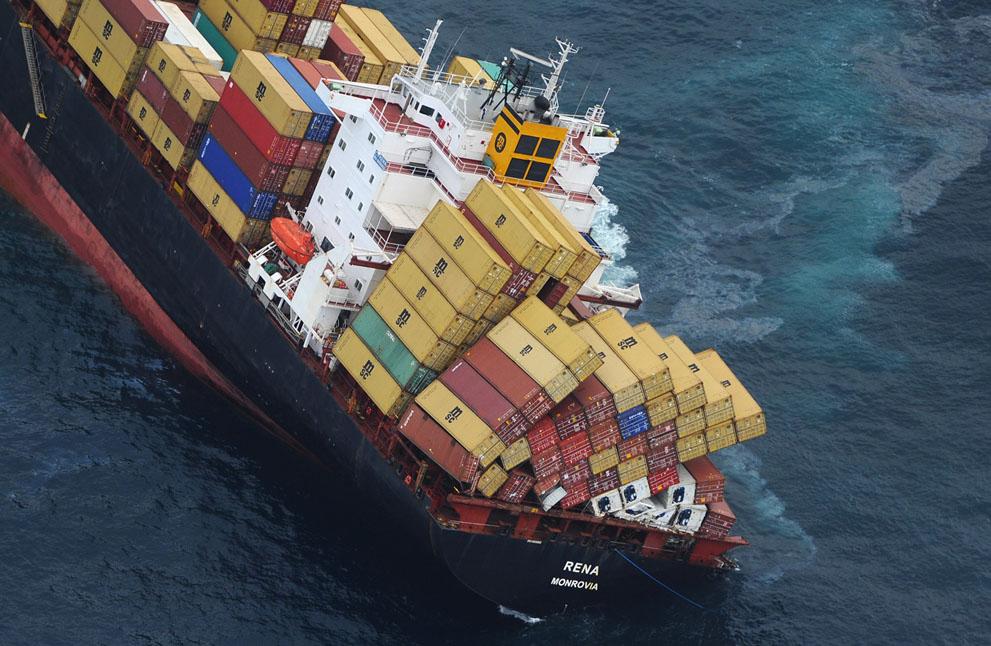s N12 29.092.663 tumpahan minyak di lepas pantai Selandia Baru