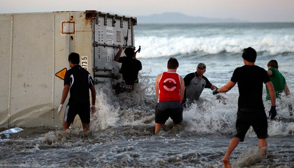 s N15 01.309.859 tumpahan minyak di lepas pantai Selandia Baru