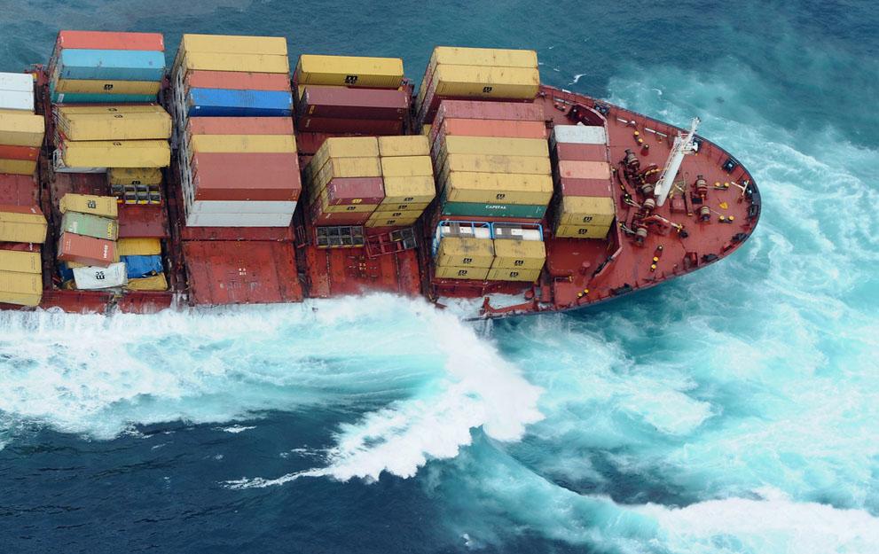 s n27 29.092.656 tumpahan minyak di lepas pantai Selandia Baru