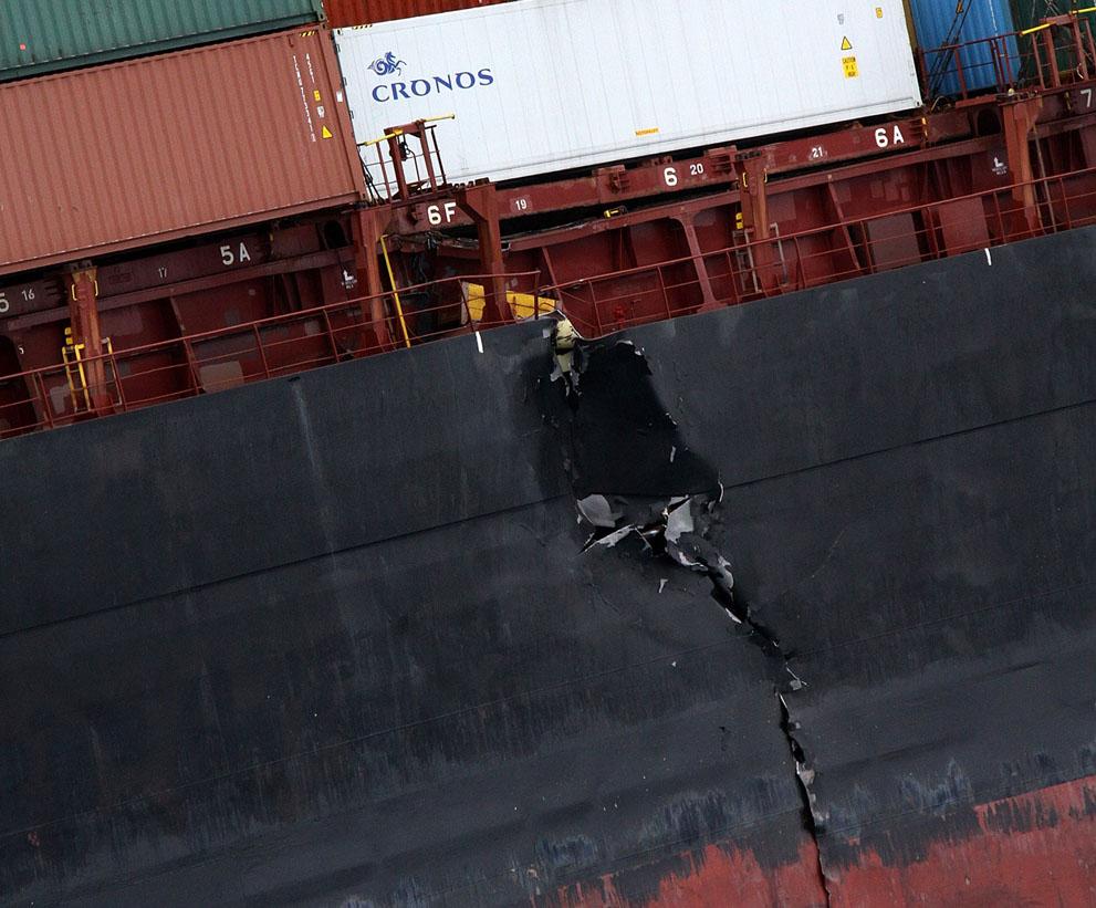 s n29 29.045.510 tumpahan minyak di lepas pantai Selandia Baru