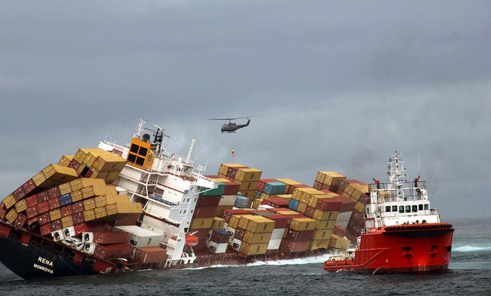 s n31 01.305.363 tumpahan minyak di lepas pantai Selandia Baru