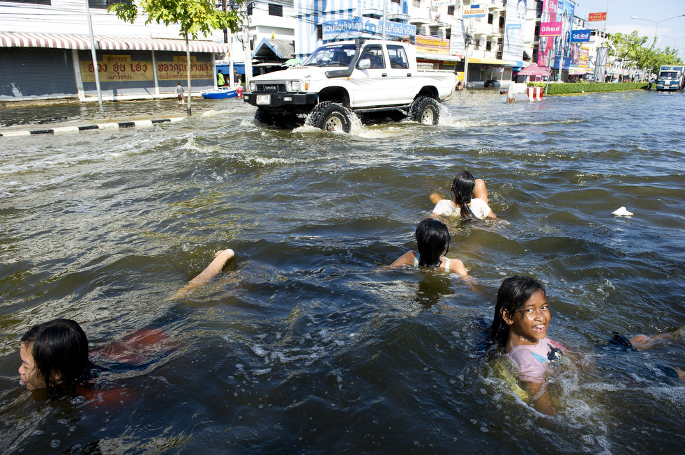 thailand flood 1027 04 Наводнение в Таиланде: Бангкок под угрозой