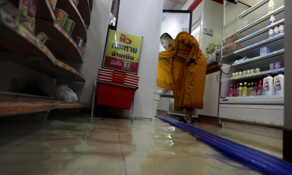 thailand flood 1027 12 Наводнение в Таиланде: Бангкок под угрозой