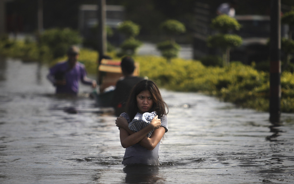 thailand flood 1027 23 Наводнение в Таиланде: Бангкок под угрозой