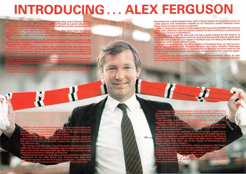 001 Самые яркие моменты карьеры Алекса Фергюсона