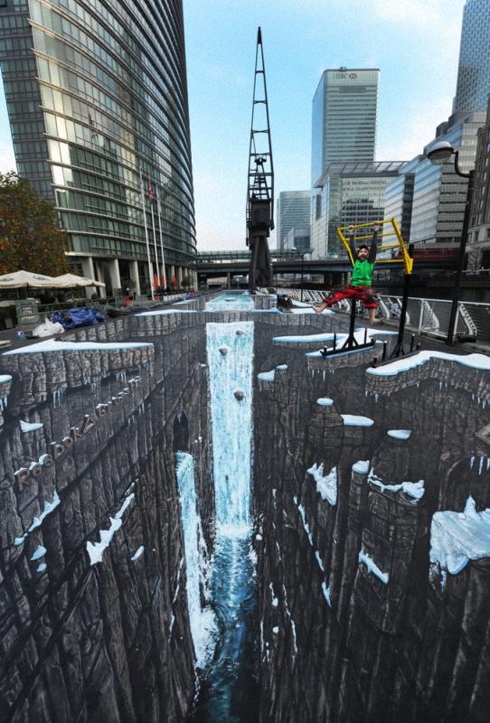 00214 Самый большой 3D   рисунок в мире