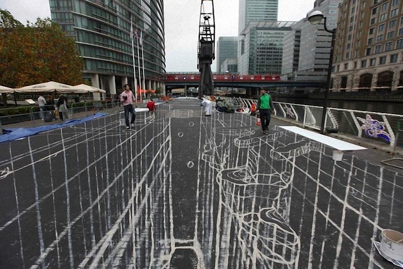 00313 Самый большой 3D   рисунок в мире