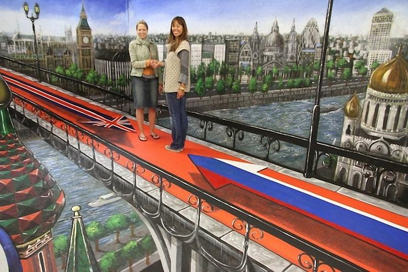 00713 Самый большой 3D   рисунок в мире