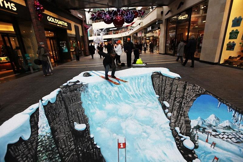 01211 Самый большой 3D   рисунок в мире