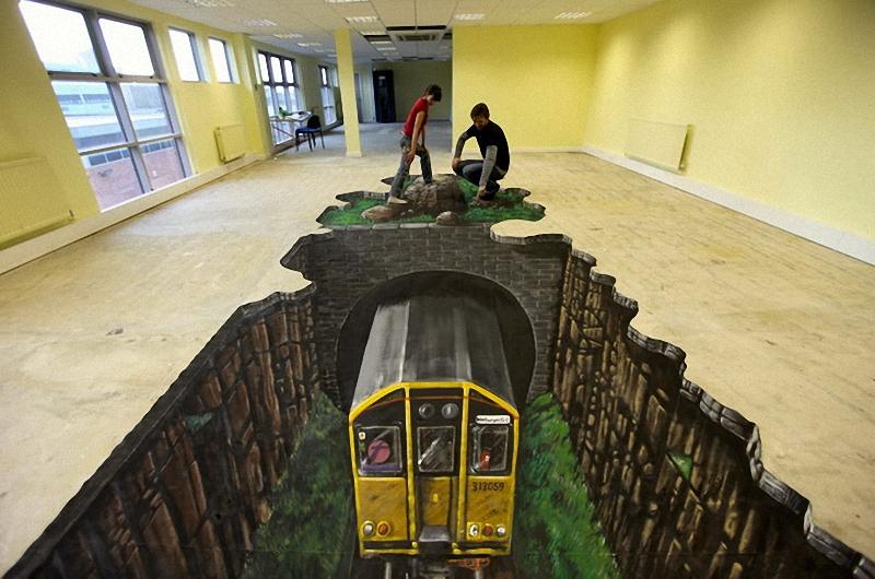 01311 Самый большой 3D   рисунок в мире