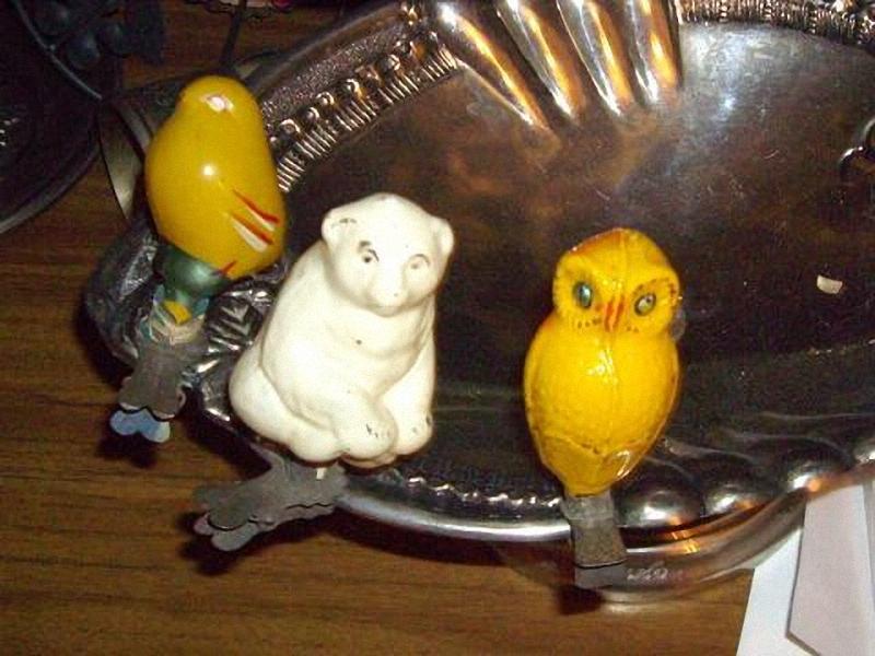 01314 Старинные елочные игрушки