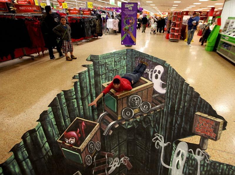 01511 Самый большой 3D   рисунок в мире