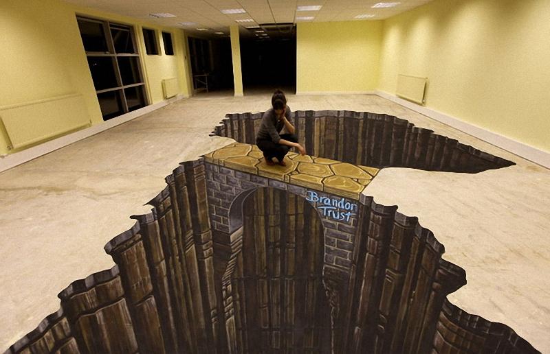 01711 Самый большой 3D   рисунок в мире