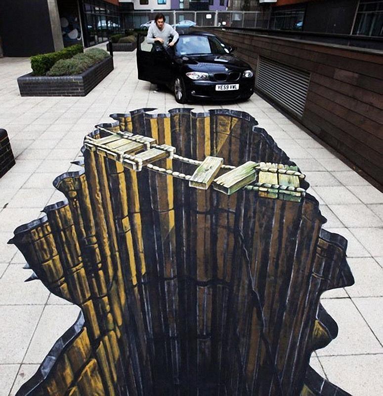 01811 Самый большой 3D   рисунок в мире
