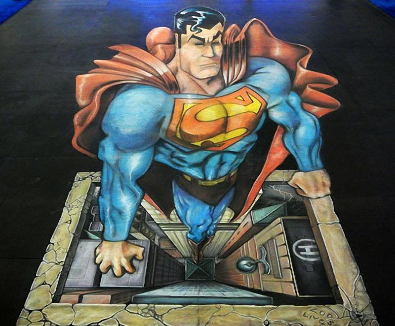 0266 Самый большой 3D   рисунок в мире