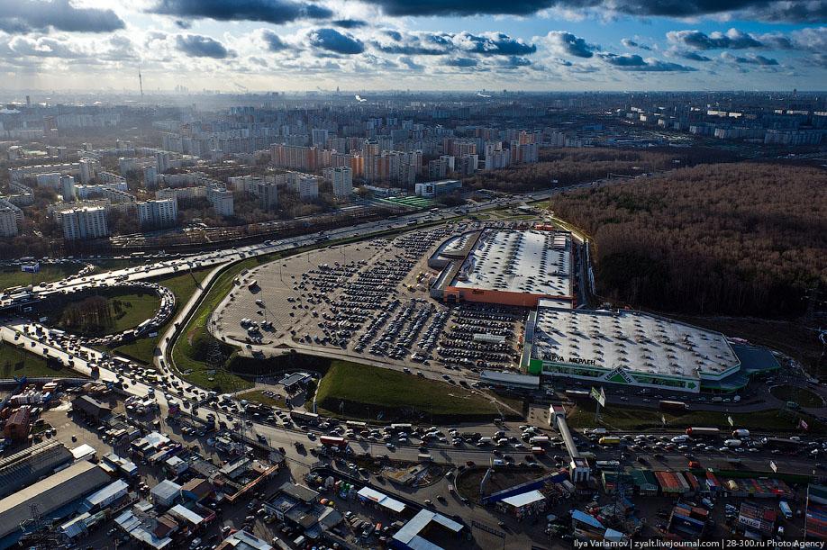 Полет вокруг Москвы