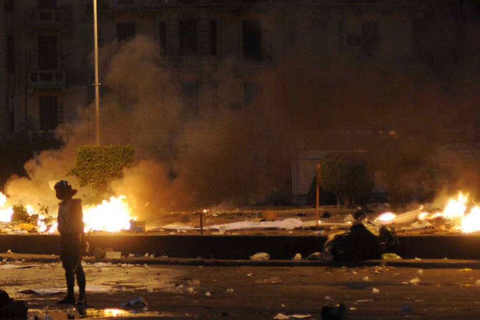 10128 990x660 nuevos disturbios en El Cairo