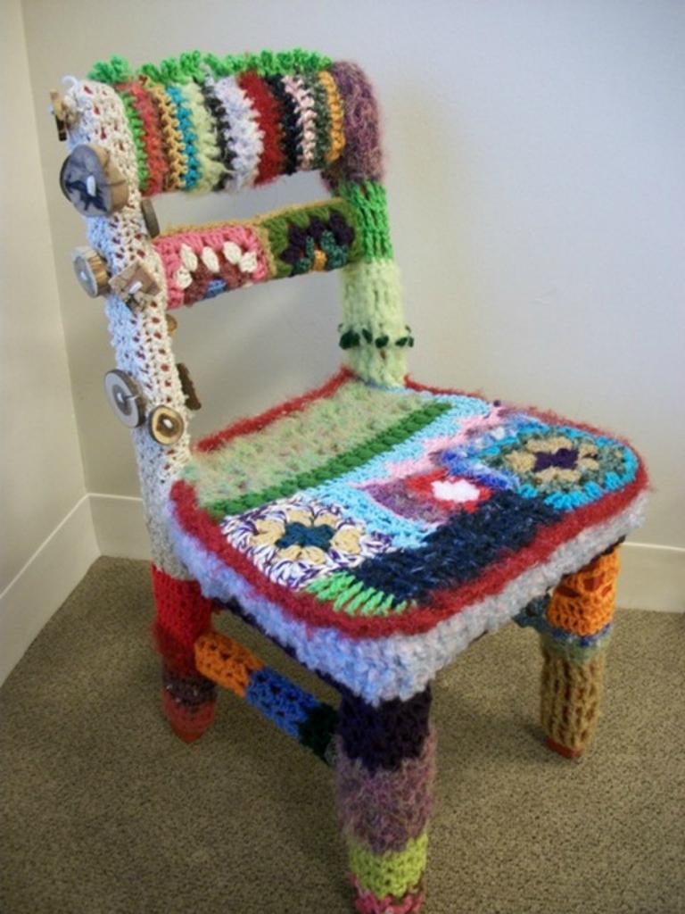 10178 Urban knitting   Шерстяной стритарт