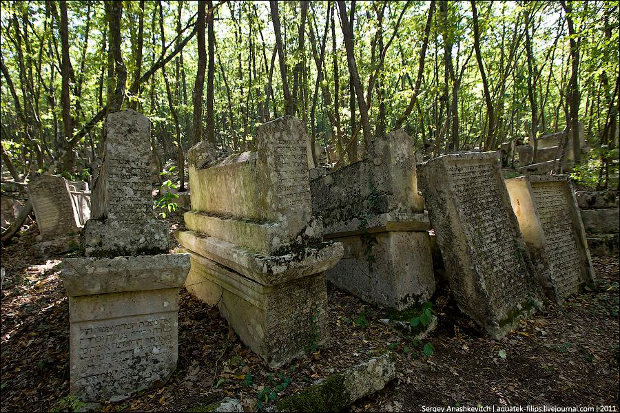 182 10 kuburan kuno Karaite di Lembah Yosafat