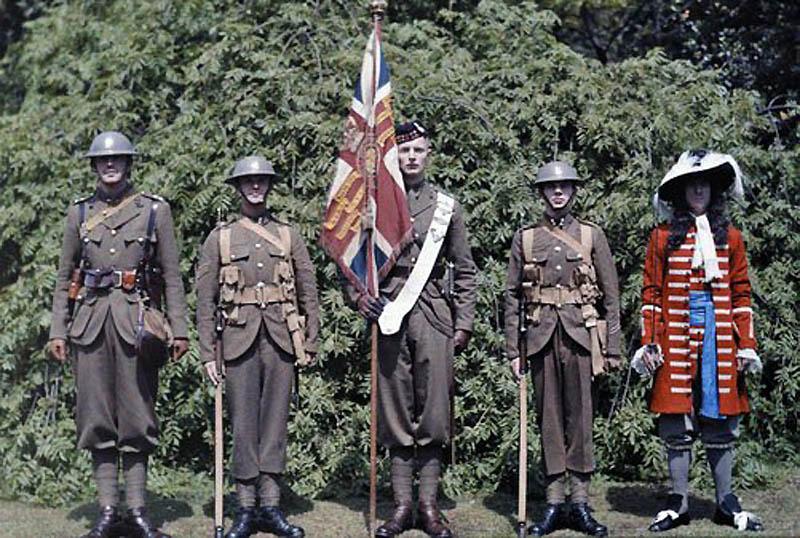 1051 Англия на цветных фото 1928 года