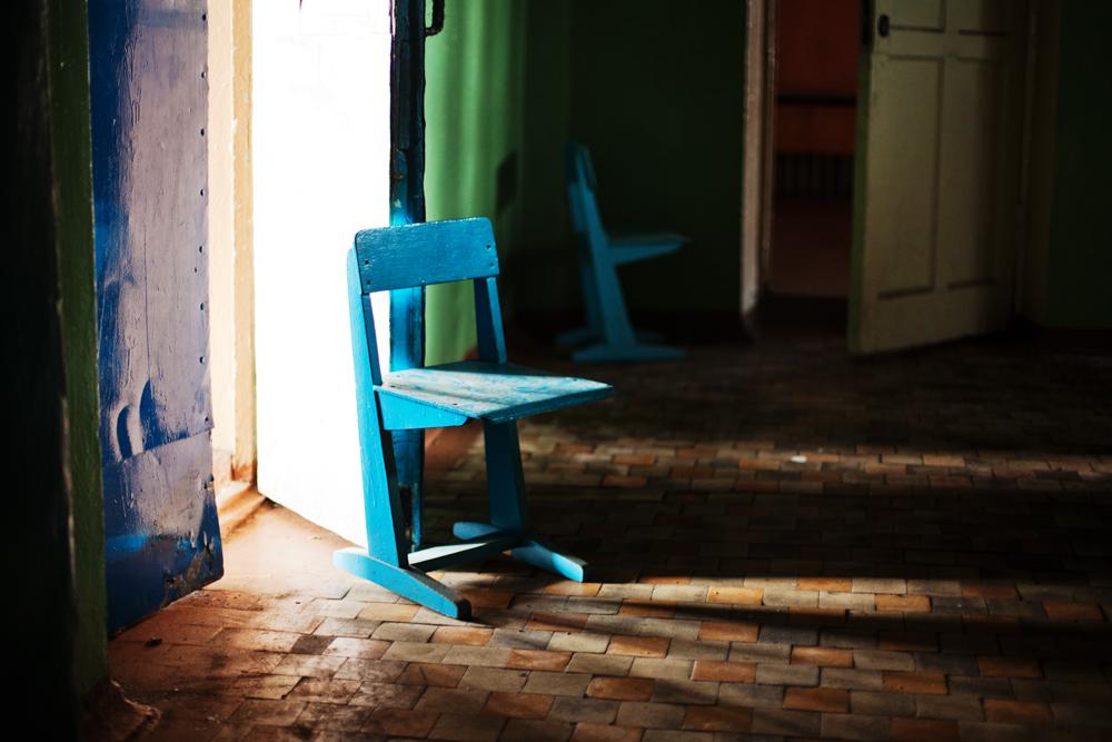 11106 Заброшенная школа на Кольском полуострове