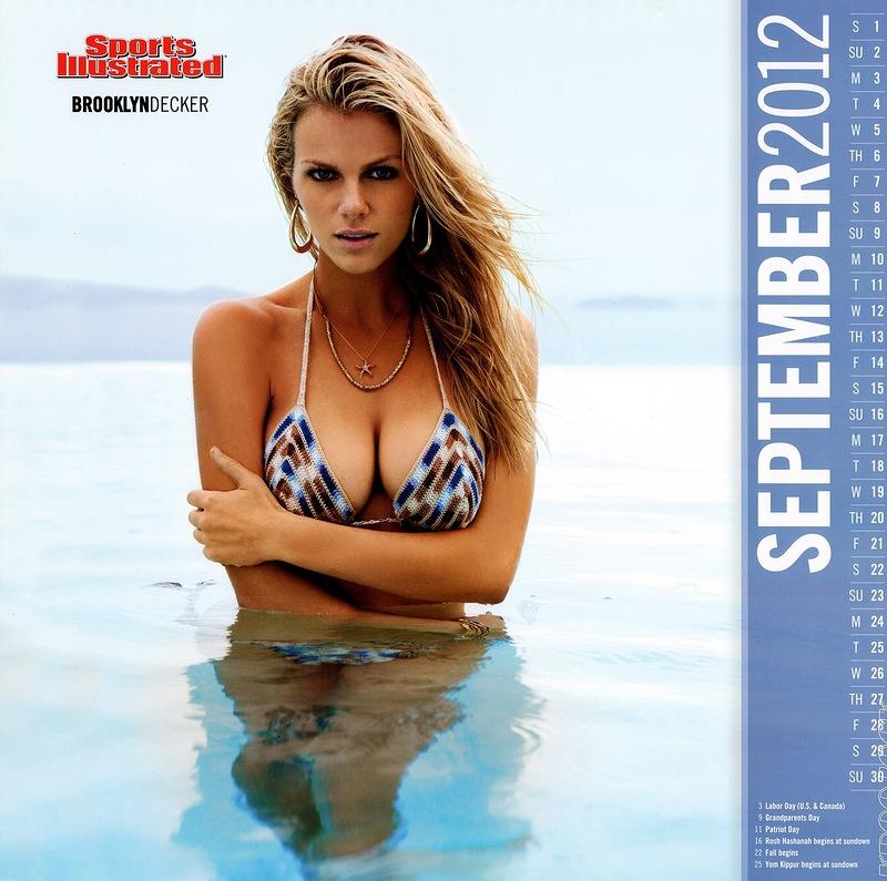 11 117 Sports Illustrated Kalender untuk 2012