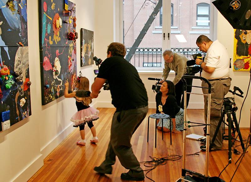 11126 Аэлита Андре – самая юная художница в мире