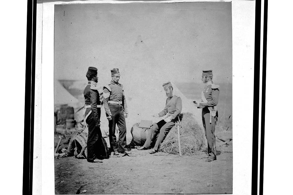 1133 Фотографии времен Крымской войны