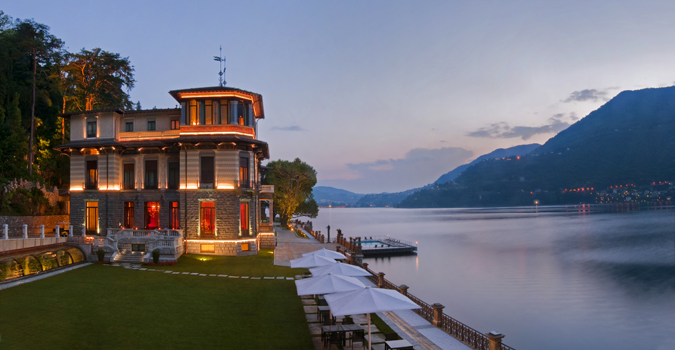 1148 Casta Diva Resort на озере Комо